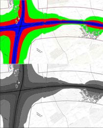 Hlukové mapy